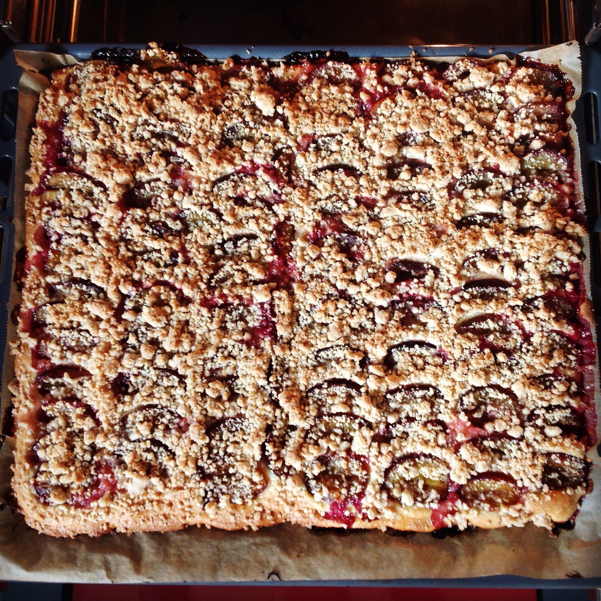 Rezept Zwetschgen Blechkuchen Mit Zimtstreuseln Vegan Schlechte